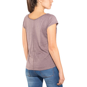 Prana Longline Camiseta Mujer, pillar of youth volcanic plum
